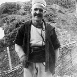 Doda NB9020 62 B Macedonia. Albanian in the upper Reka valley near Dibra.