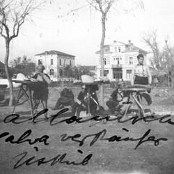 Doda NB9020 67 B Macedonia. Albanian halva merchants in Skopje.