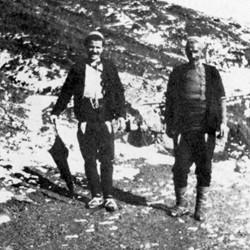 Doda NB9020 73 B Macedonia. Albanian in the upper Reka valley near Dibra.