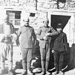 Doda NB9020 76 B Macedonia. Turkish gendarmes in Upper Reka.