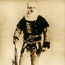 002 Baron Franz Nopcsa in northern Albanian costume, ca. 1916