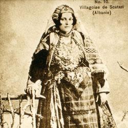 045 Albania. An Albanian peasant woman near Shkodra
