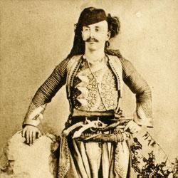 049 Albania. Muslim man