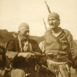 230 Albania. The men of Blinisht in the District of Lezha