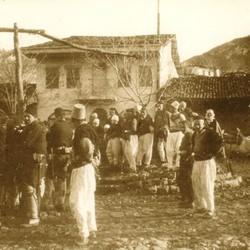 234 Albania. Men in Shkodra, 1903