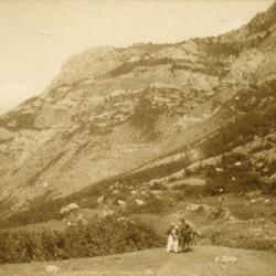 244 Albania. Mountains above Pog in the upper Kir valley (District of Shkodra), lying in the Malësia e Vogël