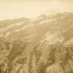 245 Albania. Mountains near Brashta in Shoshi tribal territory (District of Shkodra), lying in the Malësia e Vogël
