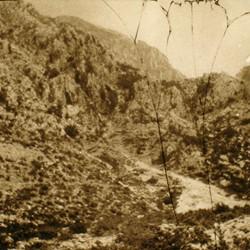 249 Albania. Mountain slope of Korja e Mërturit, above Guri i Lekës in the vicinity of Shoshi, situated in Mërturi tribe territory