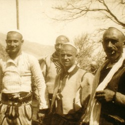 250 Albania. Men of Raja. Mërturi in the Drin valley of the District of Tropoja