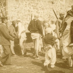 253 Albania. The villagers of Iballja in the District of Puka, 1905