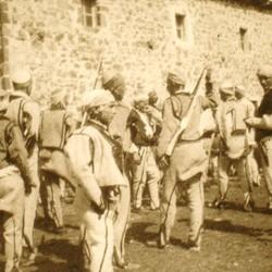 256 Albania. The tribemen of Iballja in the District of Puka, 1905