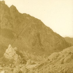 268 Albania. A peak in the Munella mountains of Mirdita
