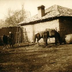 282 Kosova. House in Suhareka (Theranda) between Prizren and Ferizaj, 1903