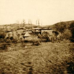 285 Kosova. The village of Budakova in the mountains between the Dukagjini Plateau (Prizren-Gjakova) and the Plain of Kosova, to the south of the pass, 1903