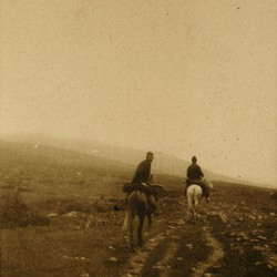 288a On horseback in the mountains, 1903