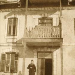 290 Kosova. Ferizaj. The Roman Catholic parish with the parish priest, 1903