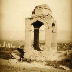 299 Macedonia. Turkish cemetary near Skopje, 1903