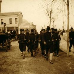 302 Macedonia. Turkish army in Skopje, 1903