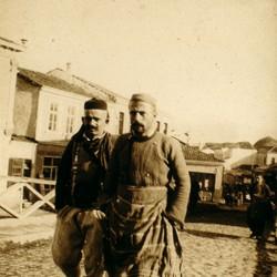 308 Macedonia. Street scene in Skopje, 1903