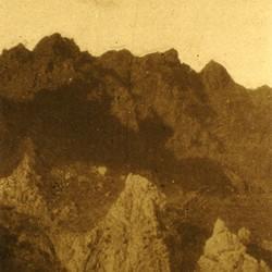 312 Albania. Part of the Munella mountain range in Mirdita