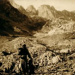 319 Albania. Peja Pass (Qafa e Pejës), north of Theth in the District of Shkodra, 1907