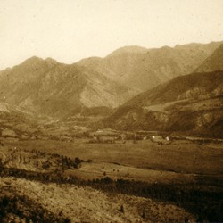 321 Albania. View near Gojan in the District of Puka, 1907