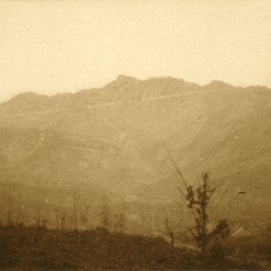 324 Albania. Mount Cukali as seen from the southeast